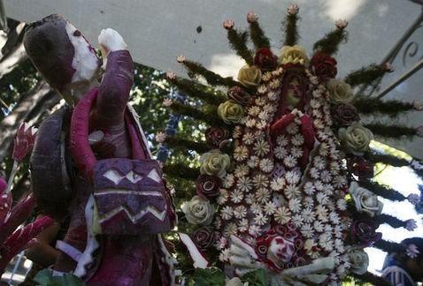 Oaxaca se prepara para la Noche de Rábanos