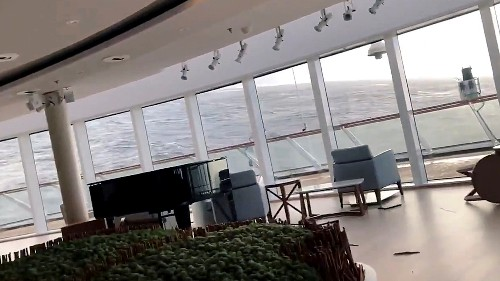 Passengers airlifted from cruise ship stranded off Norway
