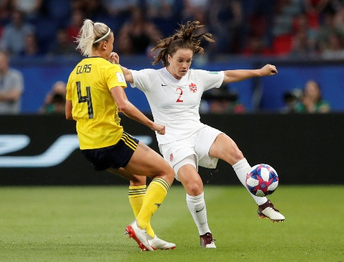 Sweden beat Canada 1-0 to reach last eight