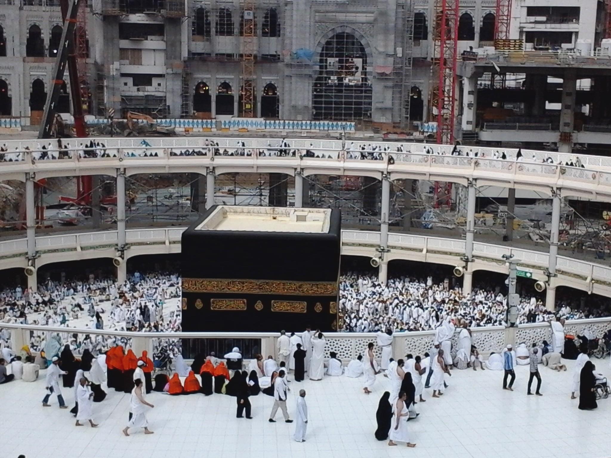 Beautiful view of khana kaba