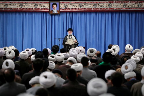 Khamenei tells Iran's Guards to develop advanced, modern weapons