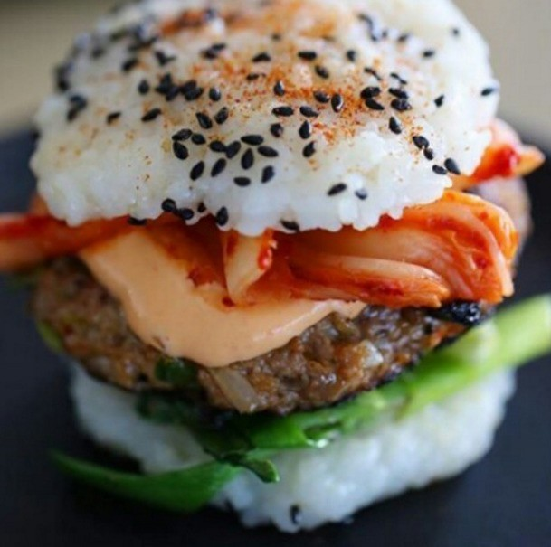 People All Over The World Have Been Making Sushi Burgers With Delicious Results