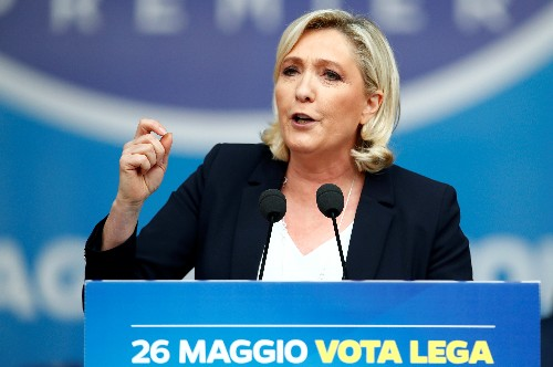 France's Le Maire says a Le Pen win in EU elections would hurt euro