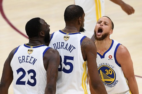 Kevin Durant's 43 Points Gives the Warriors a 3-0 Series Lead: Pictures