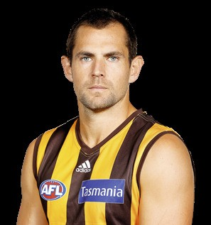 Luke hodge a leader but a supporter he leads the hawthorn footy club