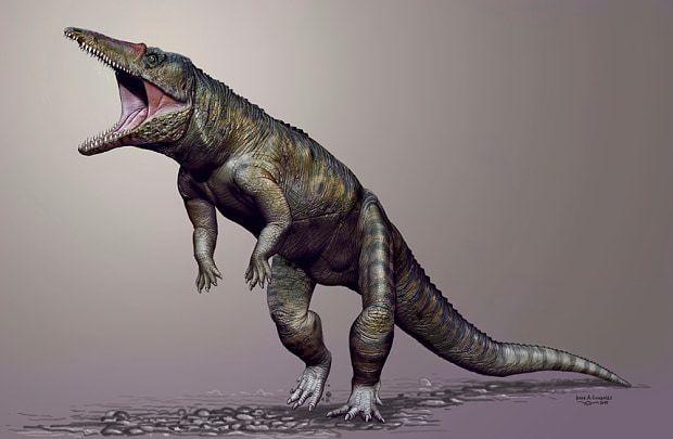 Giant walking crocodile terrorised Earth before dinosaurs