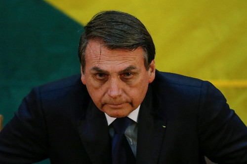 Brazil's Bolsonaro says nominating son as ambassador to U.S. is not nepotism