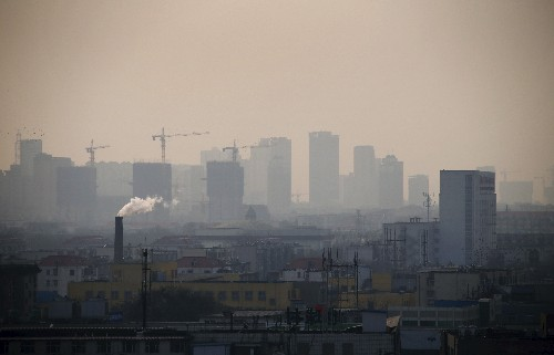 China's top steelmaking city Tangshan issues second-level smog alert from April 20