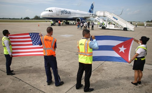 The Week in Review: Historic Flights to Cuba Begin