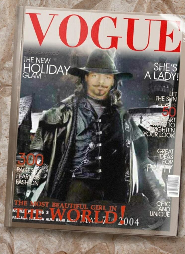 زيزون عالم الفوتوشوب - Magazine cover