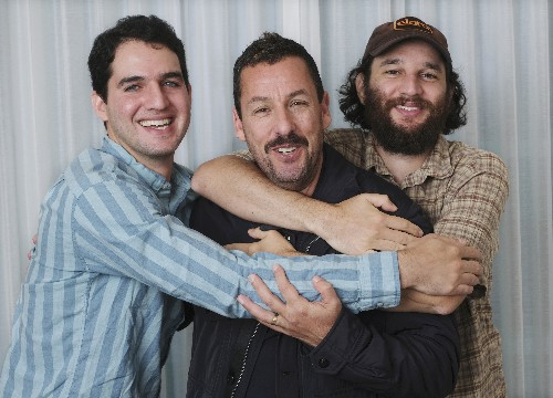 Adam Sandler on plunging into the Safdies' 'Uncut Gems'
