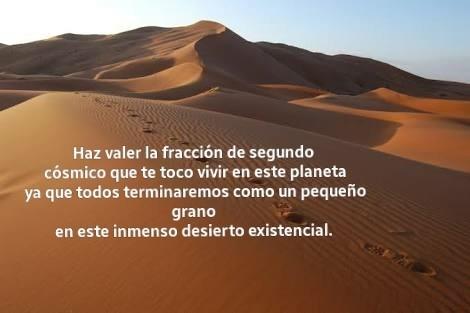 Grano de arena.