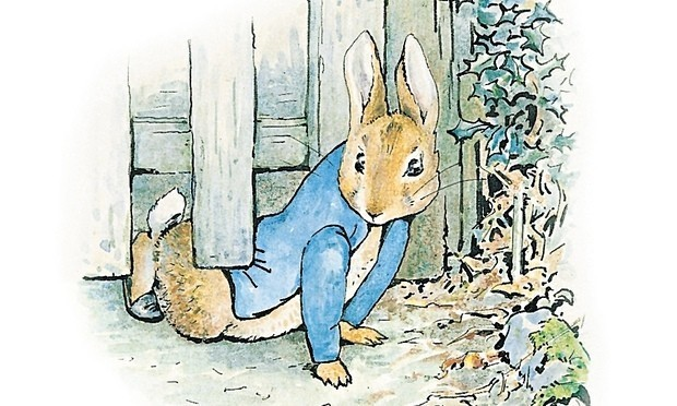 What can children learn from crime classics like Peter Rabbit?