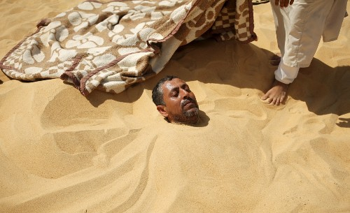 THE SHOT: Therapeutic Sands of Siwa, Egypt