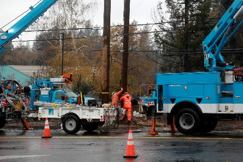 PG&E lines blamed for deadliest wildfire in California history