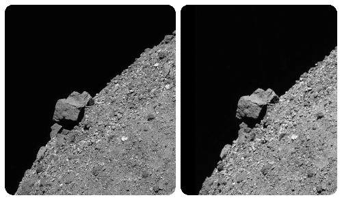 Rock On: NASA releases artsy shots of 2 asteroids