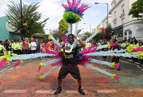 Notting Hill Carnival in London: Pictures