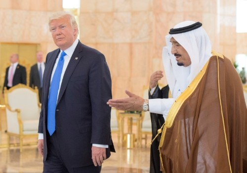 Trump: I told Saudi king he wouldn't last without U.S. support