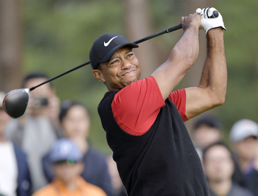 Tiger hosts Masters Champions Dinner 'quarantine style'
