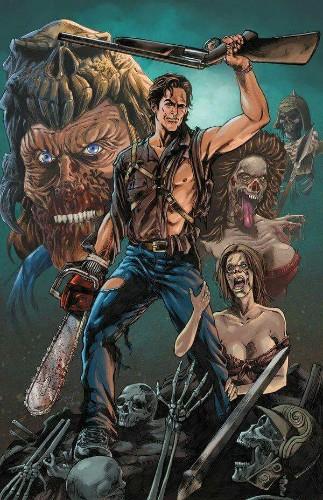 Ash Vs Evil - Magazine cover