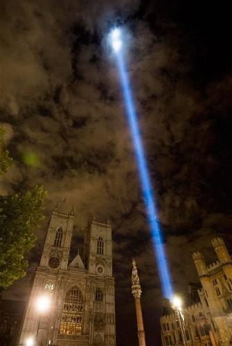 ArtAngel spectra: London's centenary beam of light