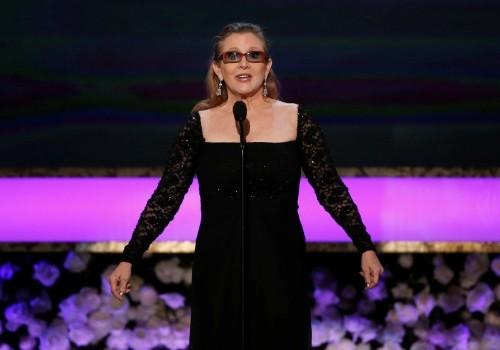 Carrie Fisher, 'Star Wars' Princess Leia, dies at 60