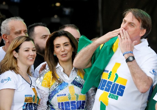 Brazil's Bolsonaro changes view, says could run for re-election