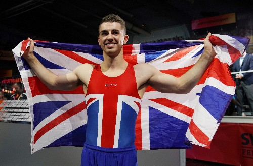 Gymnastics: Britain's Whitlock captures third pommel horse world title
