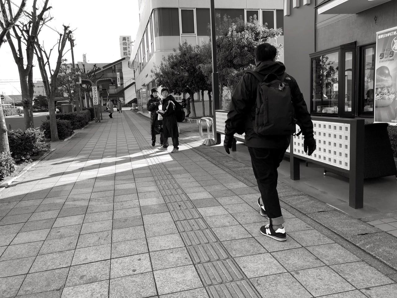 Street scene Nagoya iPhone X Lenka app