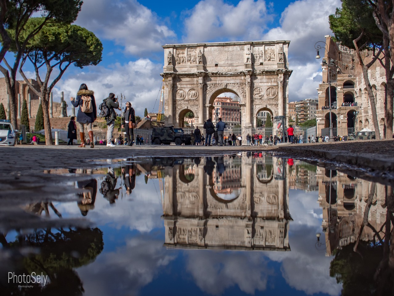 Rome in Reflection