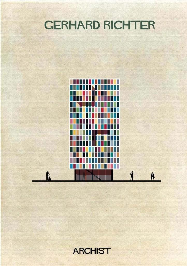 Como seriam as casas dos artistas se fossem iguais suas obras?