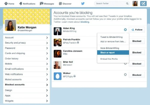 Twitter releases improved tools for reporting abuse and harassment