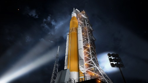 The monster rocket NASA is building to shuttle astronauts to Mars just passed a major milestone