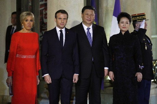 Chinese leader to sign economic deals during visit in France