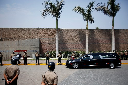 Peru ex-president leaves cadaver as sign of 'contempt' for his enemies - suicide note