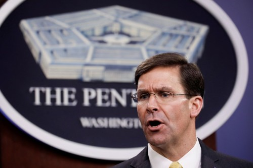 Pentagon to accelerate process for National Guard funding amid coronavirus fight