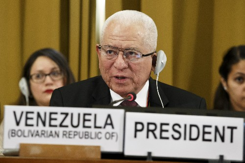 Venezuelan envoy lashes back after US walkout from UN body