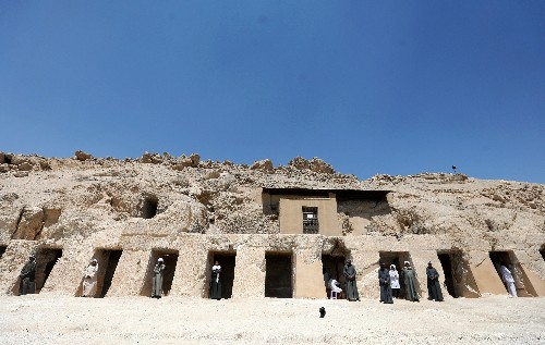 Expansive New Kingdom tomb unveiled in Egypt's Luxor
