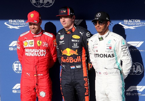 Verstappen on pole for Brazilian Grand Prix