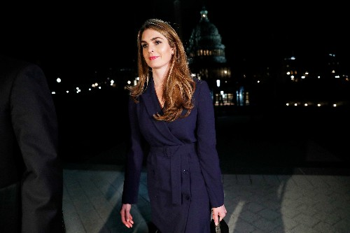 U.S. House lawmaker subpoenas Hope Hicks and an ex-staffer to Don McGahn