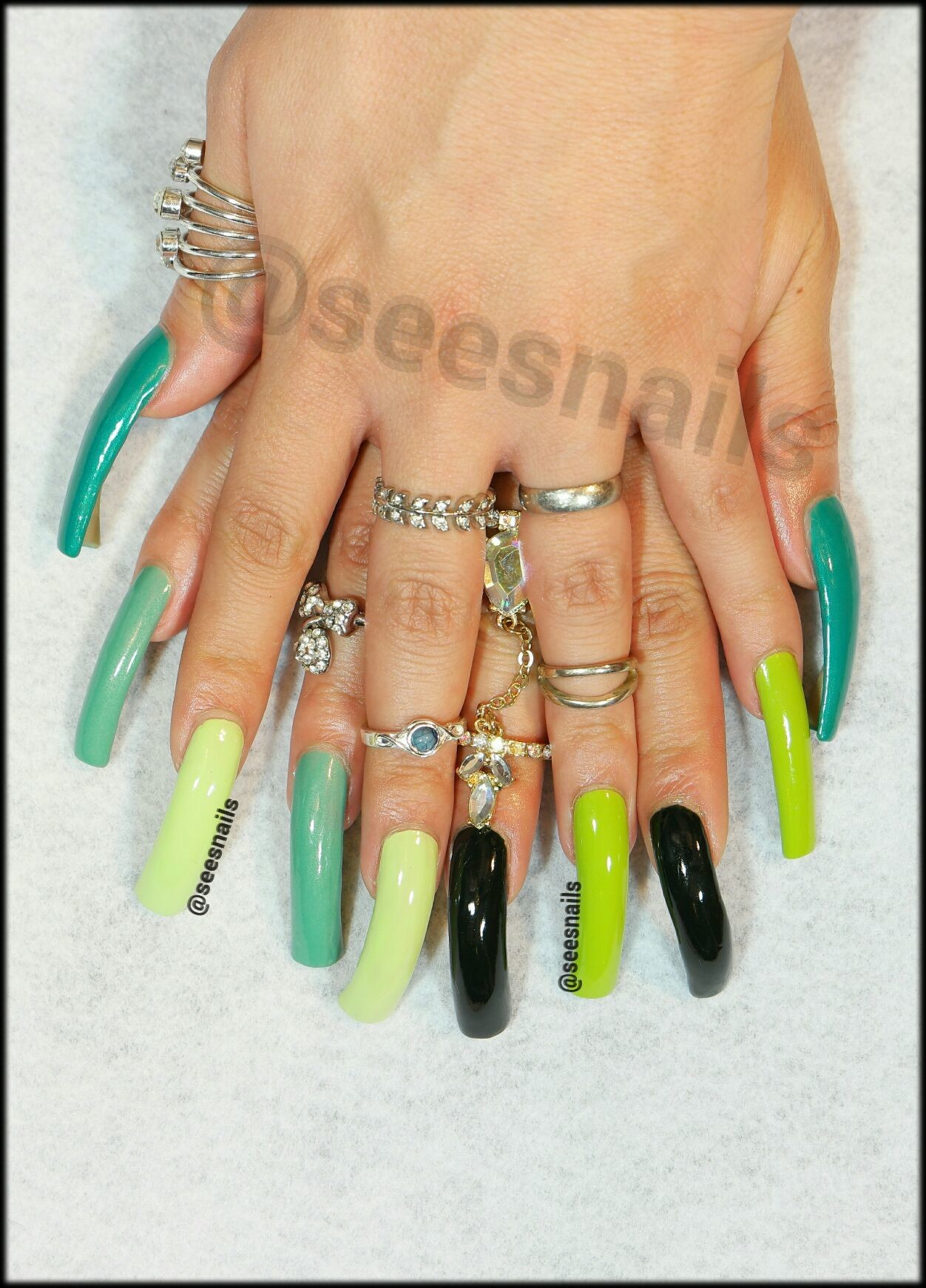 Green polishes