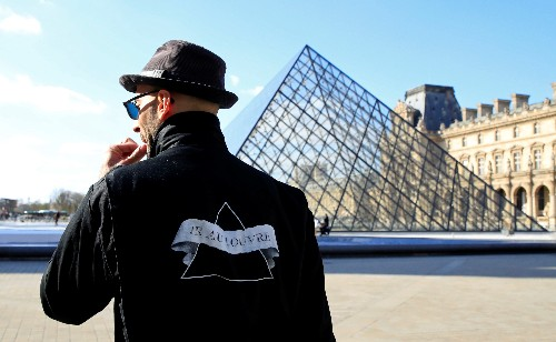 Louvre's glass pyramid set for interactive performance for 30th anniversary