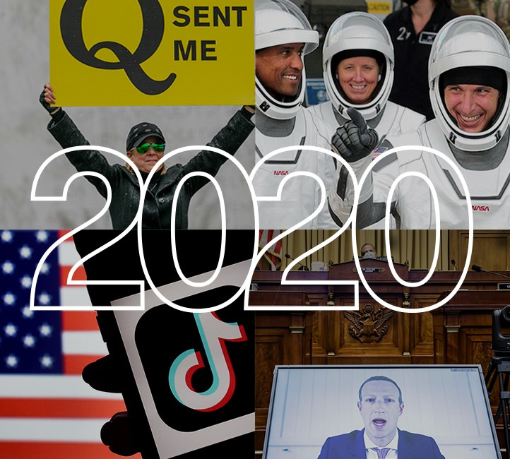 The Year in Tech Review 2020 cover image