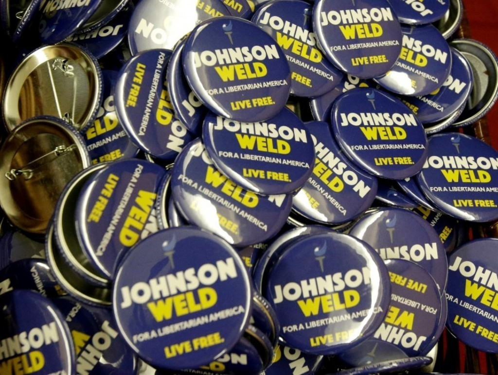 This year's Libertarian ticket has remarkable political experience. Now will it matter?