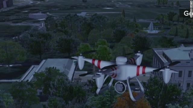 Secret Service investigating small drone
