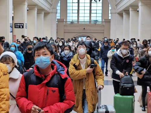 China Battles Coronavirus Outbreak: Pictures