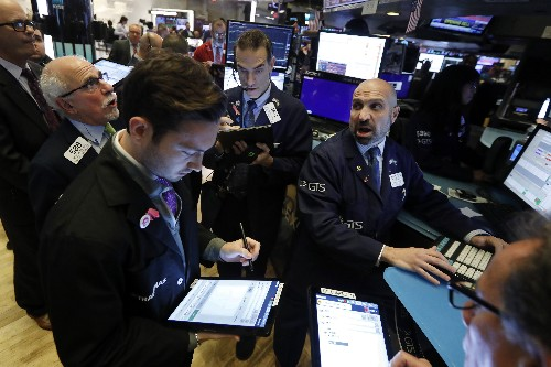 Stocks fall as Trump downplays chances of China trade deal