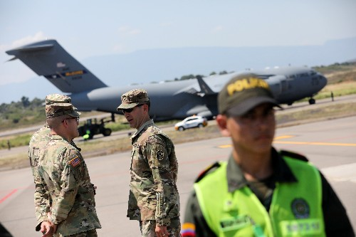 More Venezuela aid arrives in Colombia amid uncertainty over distribution