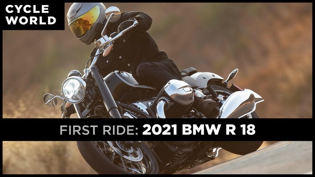 2021 BMW R 18 First Ride