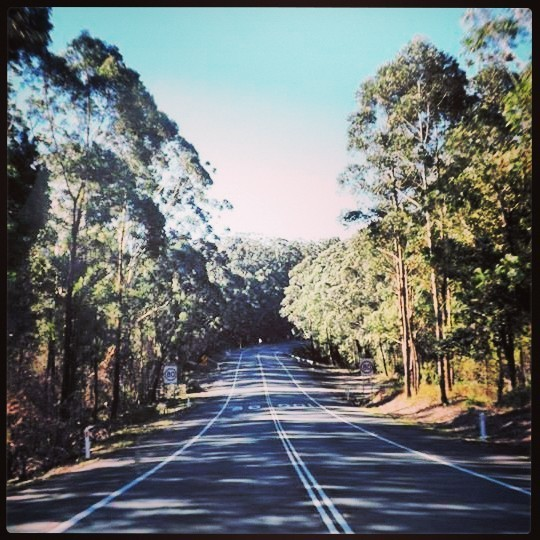 The Great Alpine Road, Victoria to New South Wales